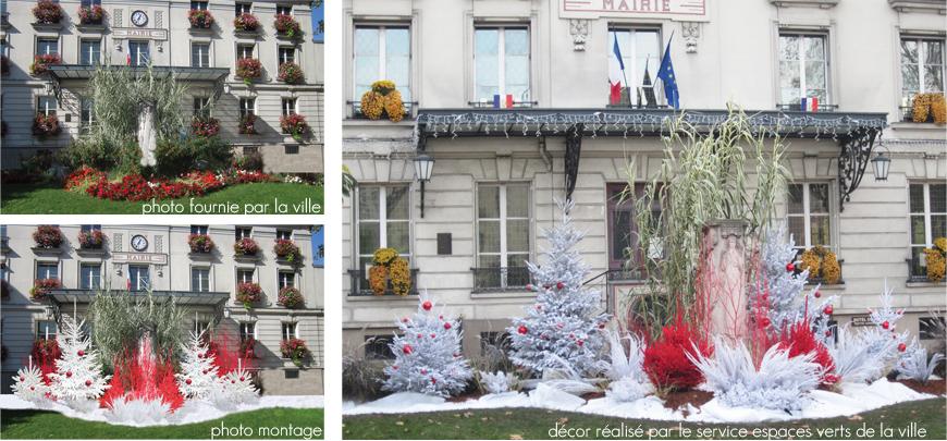 proposition de décor Noël